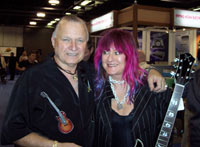surf guitarist Dick Dale and Shredmistress