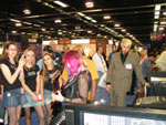 Shredmistress Rynata with Minarik Inferno at NAMM