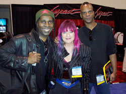 Vernon Reid of Living Color, Reggie Mars and Shredmistress Rynata