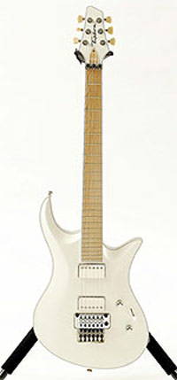 Bill Tipton Guitar white
